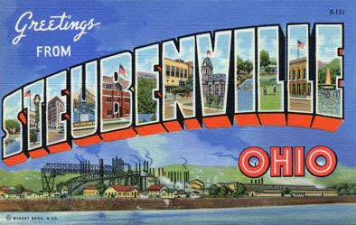 Greetings from Steubenville, OH