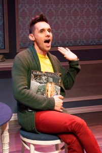 Nick Cearley stars in ETC's production of Buyer and Cellar